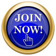 图库照片: Join now icon