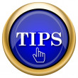 Stockfoto: Tips icon