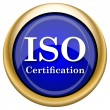 Stock Photo: ISO certification