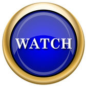 Watch icon — Stock Photo