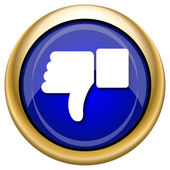 Thumb down icon — Stockfoto