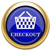Checkout icon — Stock Photo