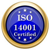 ISO14001 icon — Stockfoto