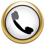 Phone icon — Stock Photo #33574269