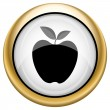 Stock Photo: Apple icon