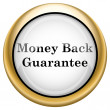 Money back guarantee icon — Stock Photo #33572627