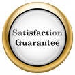 Stock Photo: Satisfaction guarantee icon