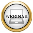 Stock Photo: Webinar icon