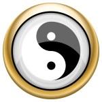 Ying yang icon — Stock Photo #33572833