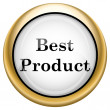 Best product icon — Stockfoto