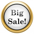 Big sale icon — Stock Photo #33573467