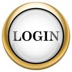 Login icon — Stock Photo #33573731