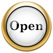 Stock Photo: Open icon