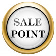Sale point icon — Stockfoto #33573911