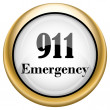 Stock Photo: 911 Emergency icon