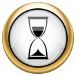 Hourglass icon — Stock fotografie