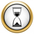 Hourglass icon — Stock Photo #33574609
