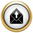 Send e-mail icon — Stock Photo #33574621