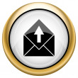 Send e-mail icon — Stock Photo