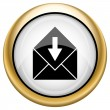 Stock Photo: Receive e-mail icon