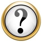 Question mark icon — Stock Photo #33574877