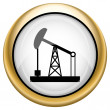 Oil pump icon — Stock Photo #33574907