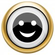 Smiley icon — Stockfoto #33574913