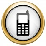 Mobile phone icon — Stock Photo #33574959