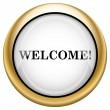 Welcome icon — Stock Photo #33575103