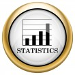 Stock Photo: Statistics icon