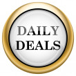 Daily deals icon — 图库照片