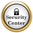 Stock Photo: Security center icon