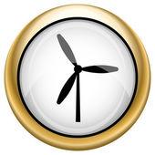 Windmill icon — Стоковое фото