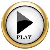 Play icon — Stock Photo