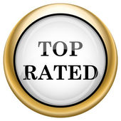 Top rated icon — Stock Photo