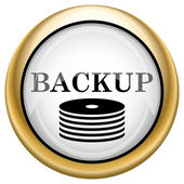 Back-up icon — Stockfoto