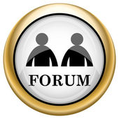 Forum icon — Stockfoto