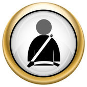 Icono de cinturón de seguridad — Foto de Stock