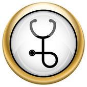 Stetoskop simgesi — Stok fotoğraf