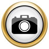 Icono de cámara de foto — Foto de Stock