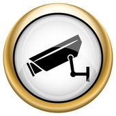 Surveillance camera icon — Стоковое фото