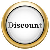 Discount icon — Stock Photo