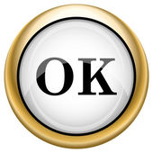 OK icon — Stock fotografie