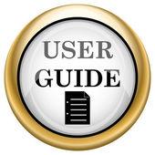 Icona guida utente — Foto Stock