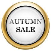 Autumn sale icon — Stock Photo