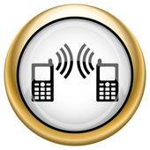 Icono de comunicación — Foto de Stock