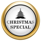 Christmas special icon — Zdjęcie stockowe