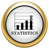 Statistieken pictogram — Stockfoto
