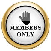 Icône seule membres — Photo