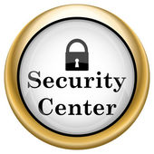 Security center icon — Stock Photo